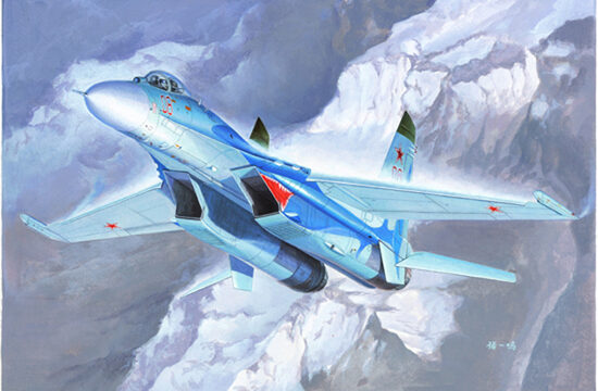 Trumpeter  01660 1/72 Su-27 Flanker B Fighter