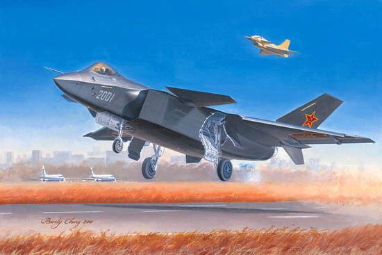 Trumpeter  01663 1/72 Chinese J20 Fighter