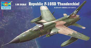 Trumpeter 02201 Republic F-105 D Thunderchief