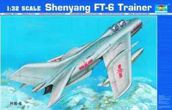 Trumpeter 02208 Shenyang FT-6 Trainer