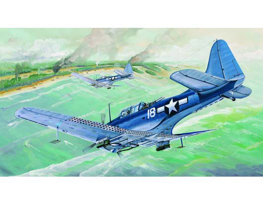 Trumpeter 02243 SBD-5/A-24B Dauntless US Navy