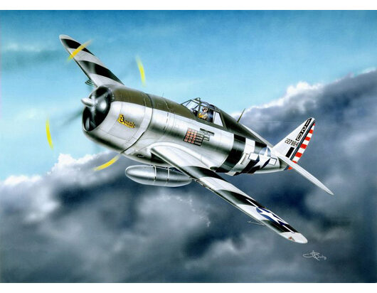 Trumpeter  02262 1/32 P-47D Razorback Fighter