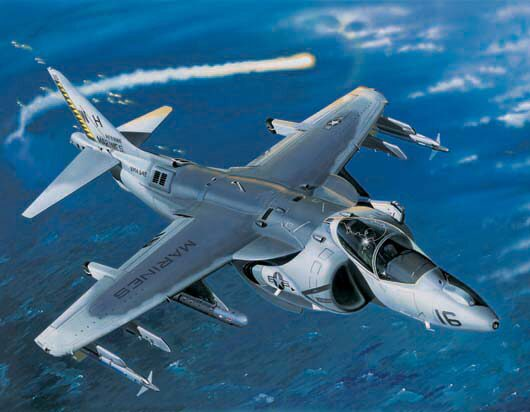 Trumpeter  02285 1/32 AV8B Night Attack Harrie