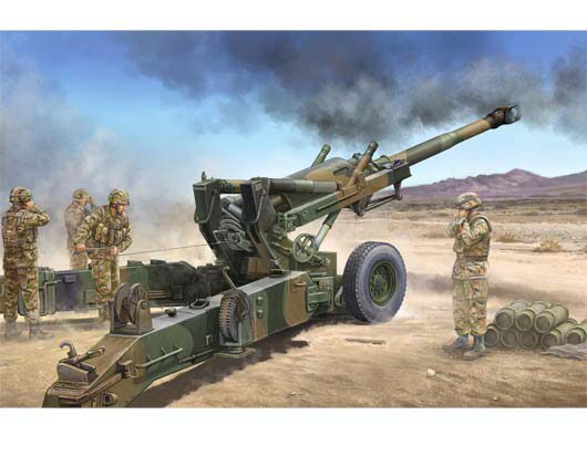 Trumpeter 02306 US M198 155mm Medium Towed Howitzer Early Version
