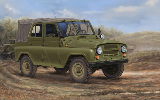 Trumpeter  02327 1/35 UAZ469 All-Terrain Vehicle