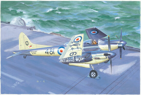 Trumpeter  02895 1/48 De Havilland Sea Hornet