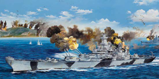 Trumpeter 03706 1/200 BB-61  USS Iowa