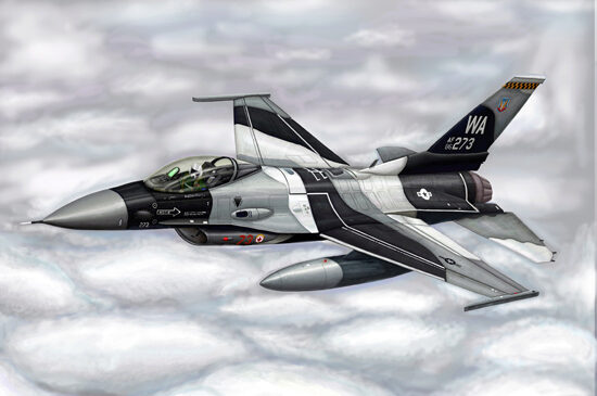 Trumpeter  03911 1/144 F16C Fighting Falcon
