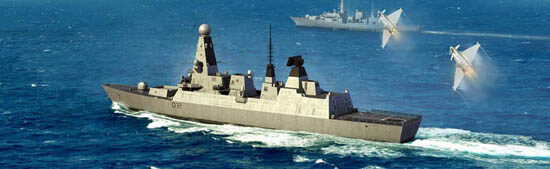 Trumpeter  04550 1/350 HMS Type 45 Destroyer