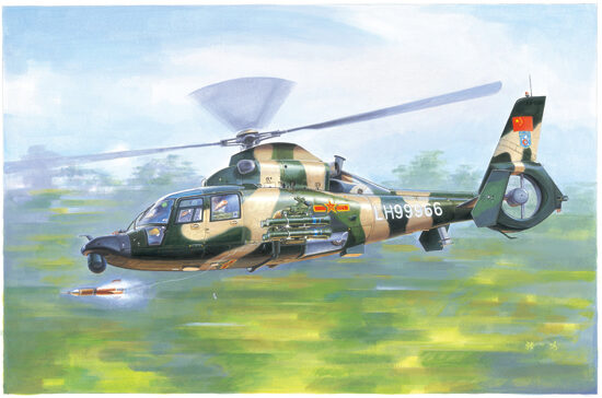 Trumpeter  05109 1/35 Z9WA Helikopter