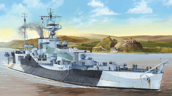 Trumpeter  05336 1/350 HMS Abercrombie Monitor