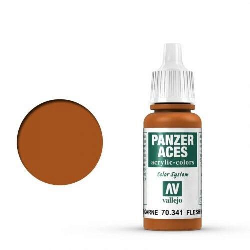 Vallejo 70341 Panzer Aces Fleischfarbe, Basiston, 17ml