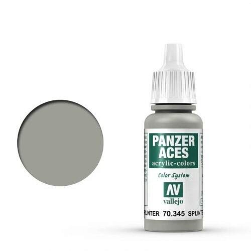Vallejo 70345 Panzer Aces Splittertarnung Basis, 17 ml