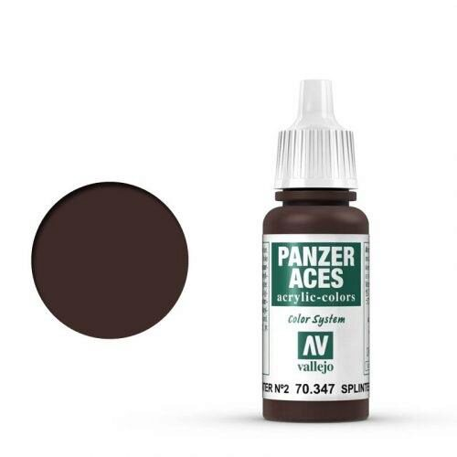 Vallejo 70347 Panzer Aces Splittertarnung Flecken II, 17 ml