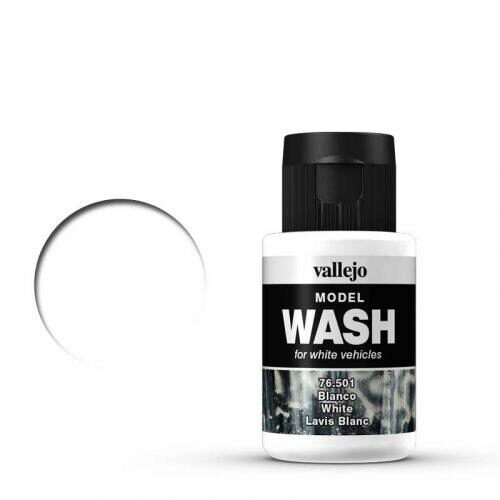 Vallejo 76501 Wash-Color, Weiß, 35 ml