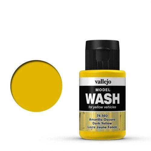 Vallejo 76503 Wash-Color, Dunkelgelb, 35 ml