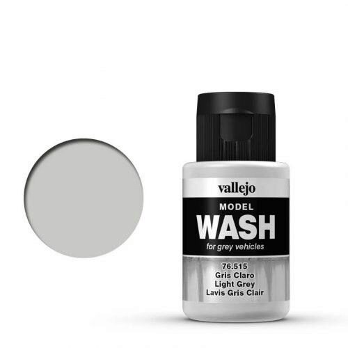 Vallejo 76515 Wash-Color, Hellgrau, 35 ml