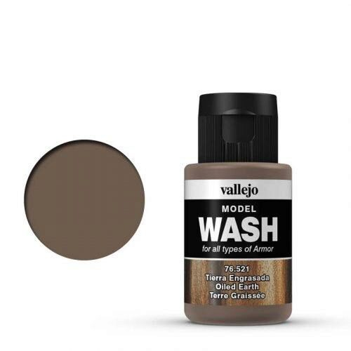 Vallejo 76521 Wash-Color, Ölige Erde, 35 ml