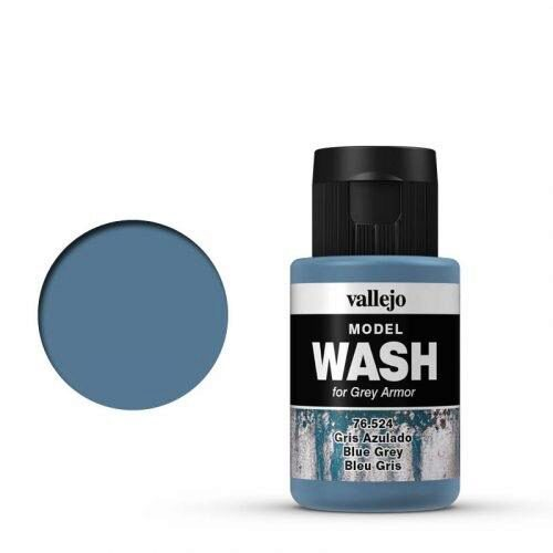 Vallejo 76524 Wash-Color, Blaugrau, 35 ml