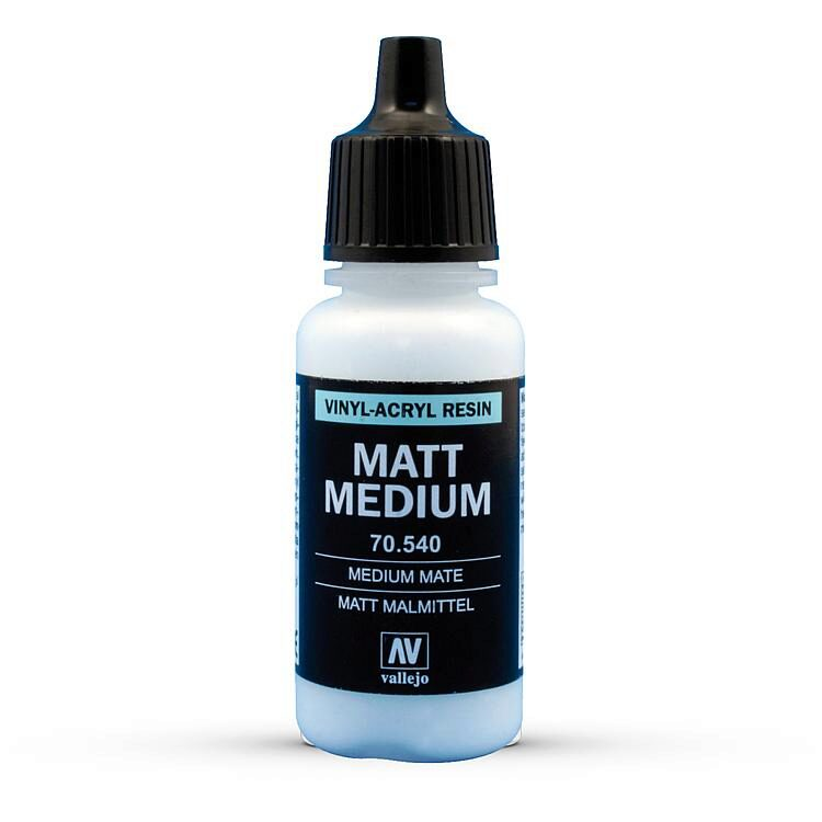 Vallejo 70540 Lasur, Matt, 17 ml
