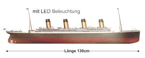 RMS Titanic + LED Beleuchtung