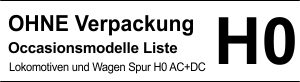 Occ. Spur H0 ohne Verpackung