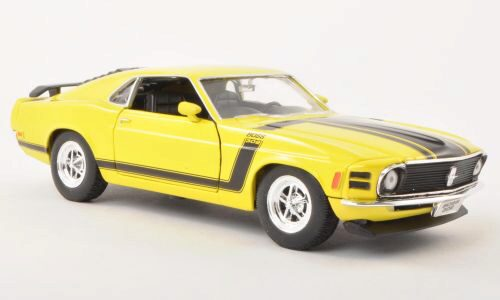 Welly 116926 Ford Mustang Boss 302 gelb