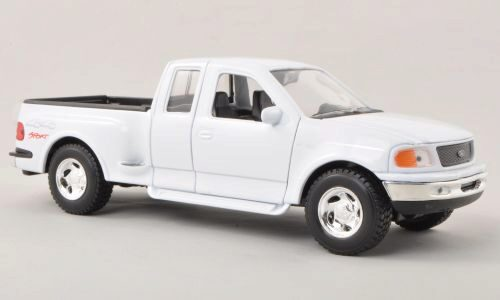 Welly 127415 Ford F-150 Flareside Supercab Pick Up weiss