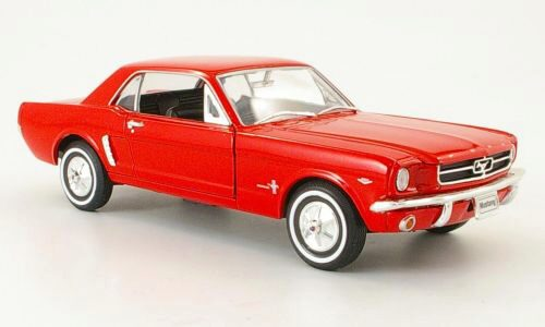 Welly 129146 Ford Mustang Coupe rot