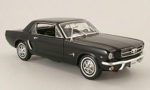 Welly 136731 Ford Mustang Coupe schwarz
