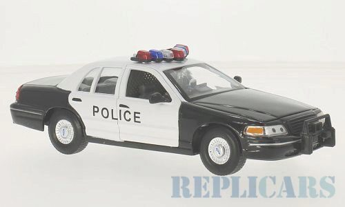 Welly 136876 Ford Crown Victoria, Police