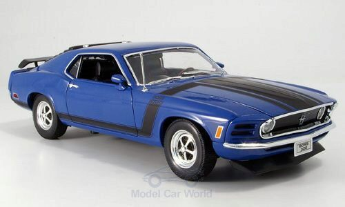 Welly 148639 Ford Mustang Boss, blau