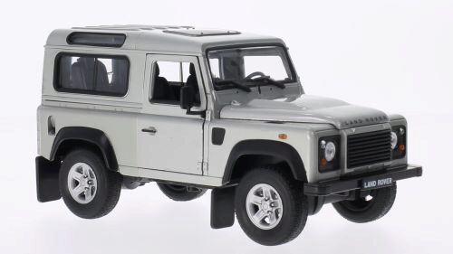 Welly 151629 Land Rover Defender silber