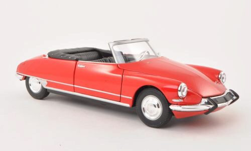 Welly 159549 Citroen DS 19 Cabriolet rot offen