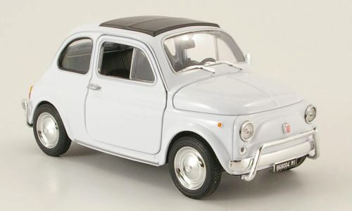 Welly 159560 Fiat 500 weiss