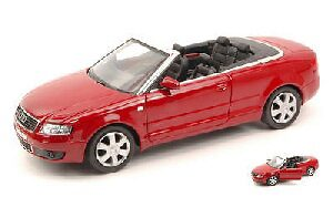 Welly 159563 Audi A4 Cabriolet, rot