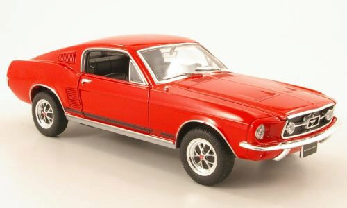 Welly 167246 Ford Mustang GT rot