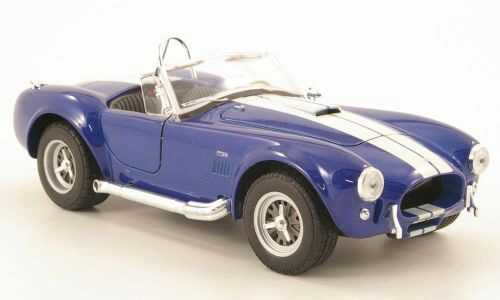 Welly 167248 Shelby Cobra 427 SC met.-blau/cremeweiss