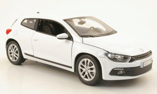 Welly 169387 VW Scirocco 3 weiss