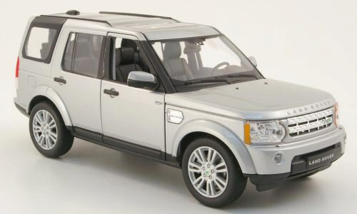 Welly 172199 Land Rover Discovery 4 silber