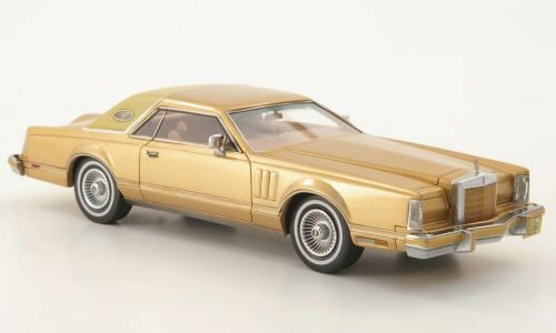 NEO 173074 Lincoln Continental Mark V Coupe gold/beige