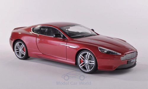 Welly 188023 Aston Martin DB9 Coupe, met-rot