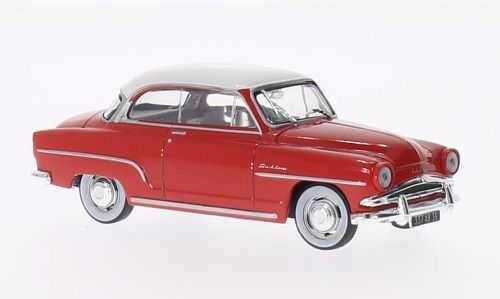 White-Box 198335 1/43 Simca Aronde Grand Large, rot/weiss Metal/Kst