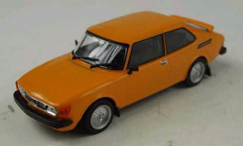 White-Box 199983 Saab 99 Turbo Combi Coupe, orange
