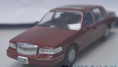 White-Box 200031 Lincoln Town Car, metallic-rot