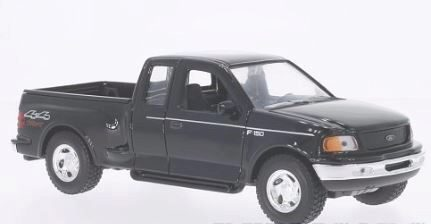 Welly 204673 Ford F-150 Flareside Supercab Pick Up schwarz
