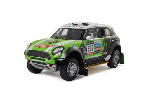 IXO 205020 Mini ALL4 Racing, No.302, Rallye Dakar