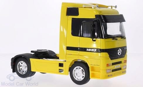 Welly 209727 Mercedes Actros, gelb