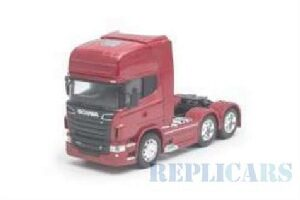 Welly 214938 Scania R730 V8 (6x4), rot