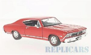 Welly 215738 Chevrolet Chevelle SS 396, rot